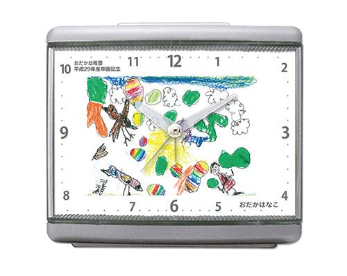 C33-simple-gray-oekaki-clock