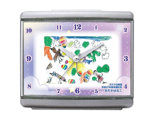 C33-star-purple-oekaki-clock