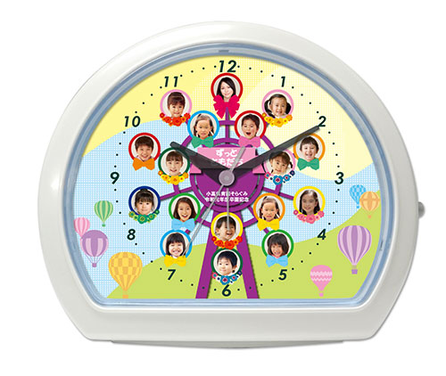 C34-kanransha-single-photo-clock