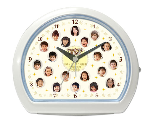 C34-kirakira-single-photo-clock