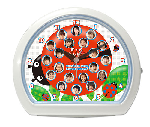 C34-ladybird-single-photo-clock