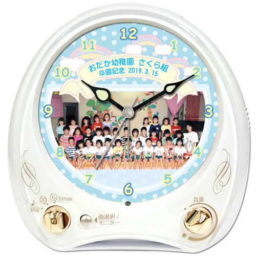 C35-cute-group-photo-melody-alarm-clock