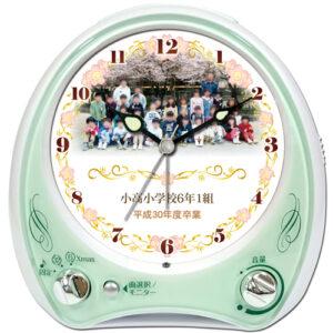 C35-sakura-frame-group-photo-melody-alarm-clock