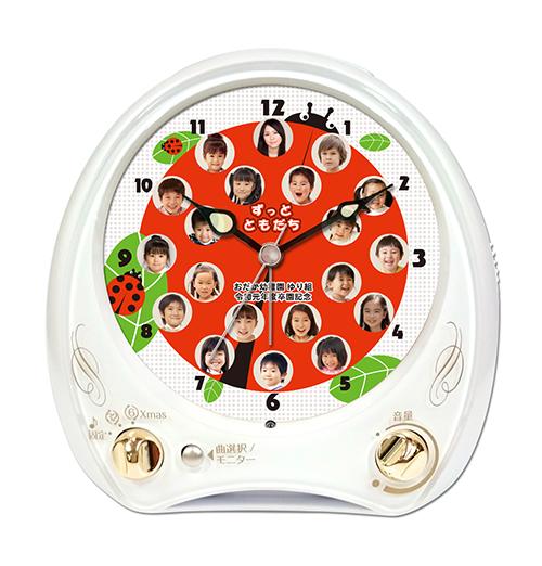 C35-w-ladybird-individual-photo-clock