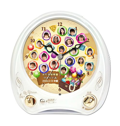 C35-w-takarabako-individual-photo-clock