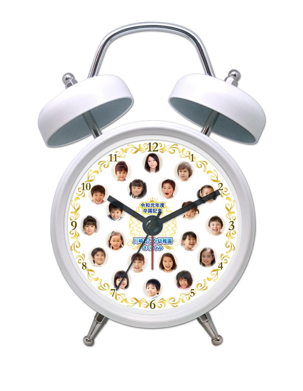 SM3-w-gold-frame-individual-photo-voice-clock